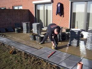 Terrasse société de rénovation Bruxelles