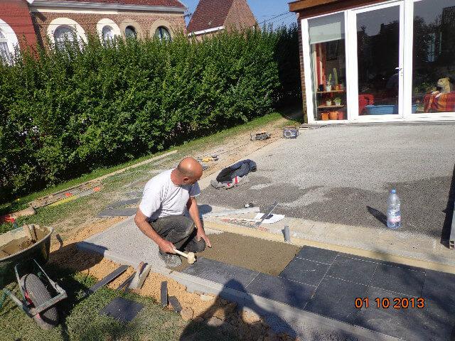 Davide attardo entrepreneur ma onnerie terrasse plateforme for Entrepreneur terrasse