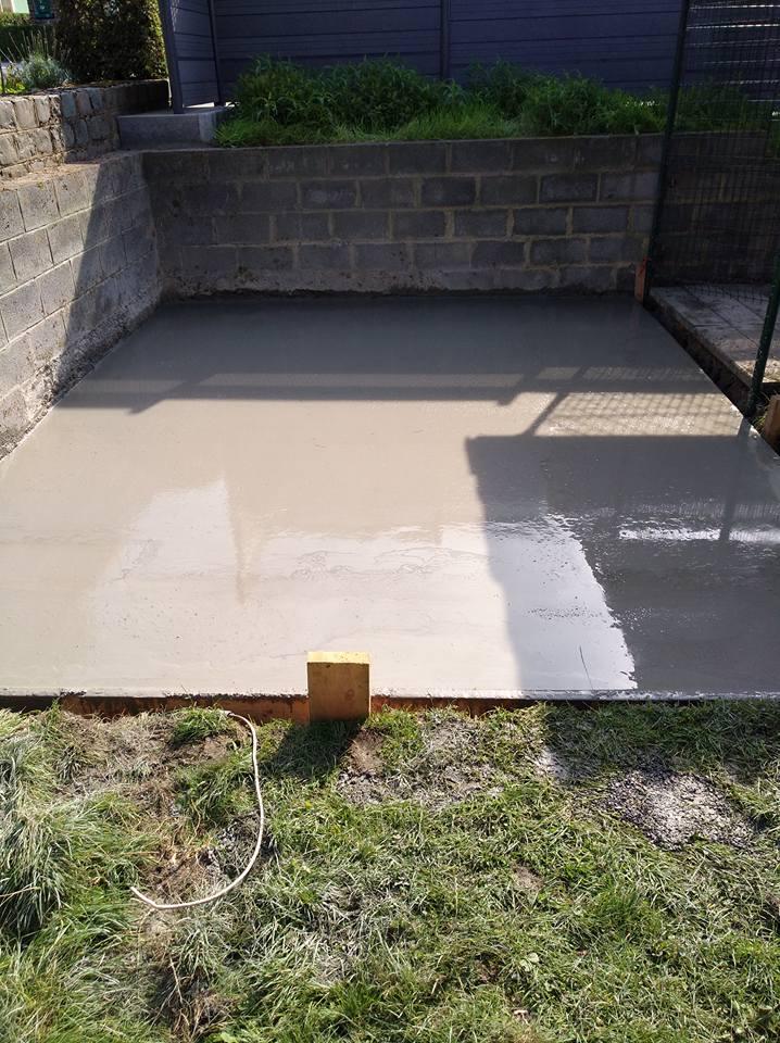 Fondation terrasse beton calcul terrasse beton excellent - Calcul beton dalle ...