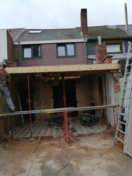 Maçonnerie plateforme roofing